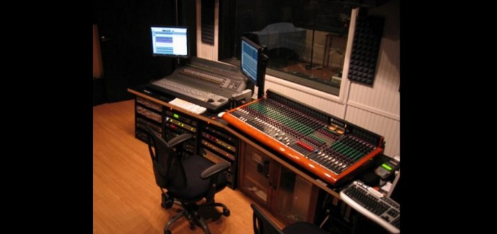 Music producers audio engineering equipment