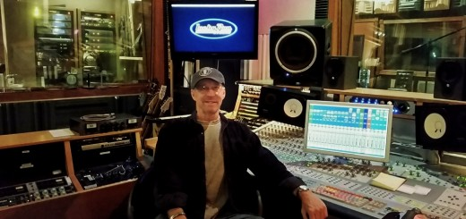 Recording Connection mentor Michael Mikulka at Lucky Run Studios