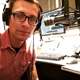 RRFC extern graduate on air in Las Vegas