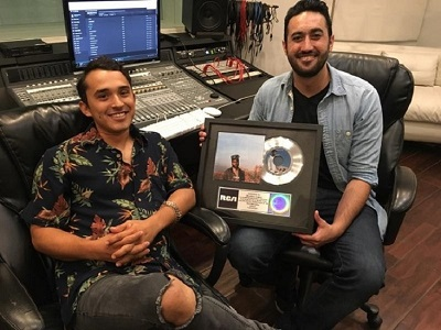 Recording Connection grads Robert Macias and Orlando Gomez earn Gold and Platinum album credits