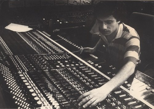 Adam Moseley at Trident Studios (1980)
